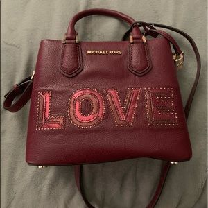 MICHAEL Michael Kors love handbag
